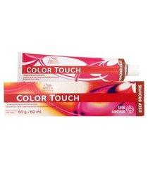 color touch tonalizante 60g - 4.77 castanho médio marrom intenso