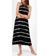 lange jurk admas tie and dye zomer lange jurk