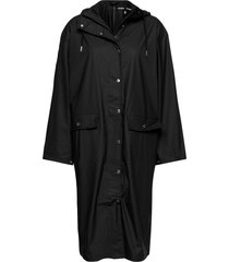 stala long jacket 7357 regenkleding zwart samsøe samsøe