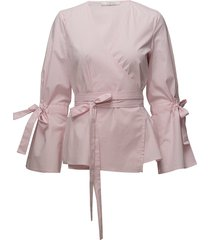 beatriz blouse so18 blouse lange mouwen roze gestuz