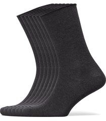 decoy socks org.cotton 7pk underwear socks regular socks grå decoy