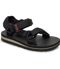 w universal trail shoes summer shoes flat sandals svart teva
