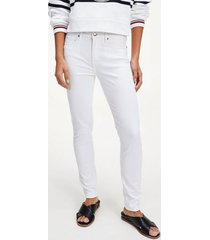 jeans skinny blanco tommy hilfiger