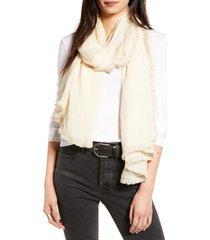 women's treasure & bond tassel crinkle scarf