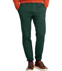pantalon slim fit cotton verde polo ralph lauren