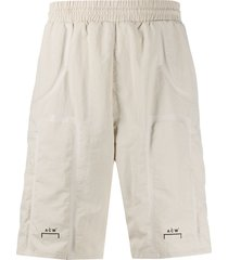 a-cold-wall* bracket taped shorts - neutrals