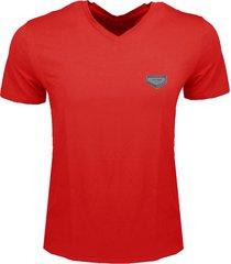 antony morato t-shirt rood v-hals