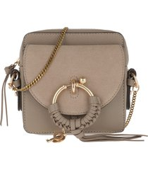 see by chloé designer handbags, grey joan camera bag