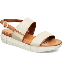 woms sandals shoes summer shoes flat sandals creme tamaris