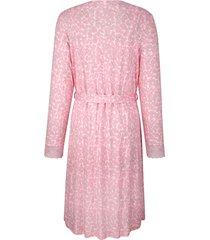 morgonrock & nattlinne simone rosa::ljusrosa::grå