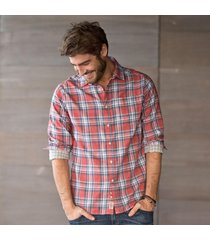 jachs plaid shirt-red