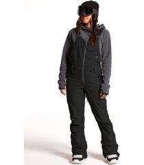 broek volcom swift bib overall black