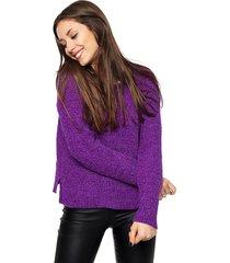 sweater violeta invento