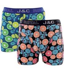 j&c heren boxer 2 pak 30054-xl