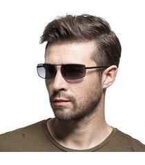 uomo hd occhiali da sole polarizzati in metallo hd uv400 vogue occhiali da sole da guida da guida