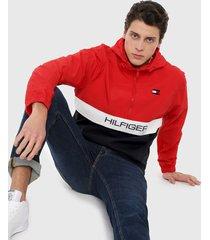 chaqueta azul-rojo-blanco tommy hilfiger