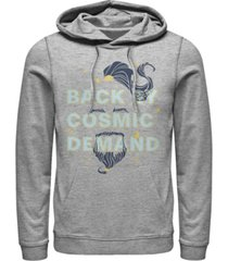 disney men's aladdin live action back by cosmic demand genie beard, pullover hoodie
