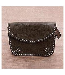 leather wallet, 'warm envelope' (indonesia)