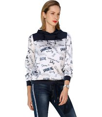 blouse amy vermont marine::offwhite