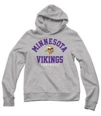 authentic apparel men's minnesota vikings established hoodie