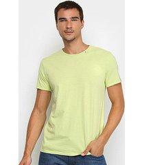 camiseta replay básica lisa masculina - masculino