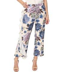 pantalon con bolero flores ref.117723 charby amarillo floral
