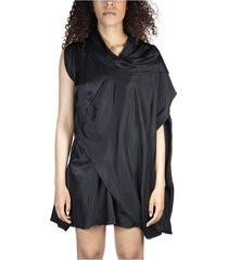draped minidress