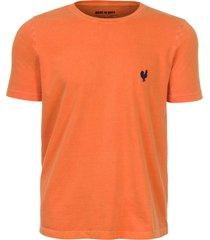 camiseta made in mato lisa stone laranja plus size - kanui