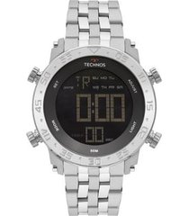 relógio technos bjk006ab/1p masculino