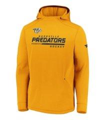majestic nashville predators men's locker room rink hoodie