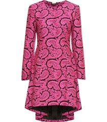 cappotto sciancrato (fucsia) - bodyflirt boutique