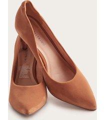 zapato taco mujer café 38