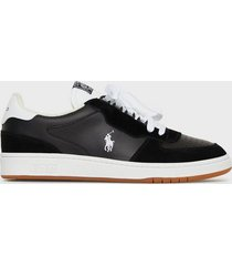 polo ralph lauren polo athletic sneakers sneakers black