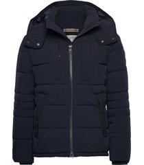 jackets outdoor woven gevoerd jack blauw esprit casual