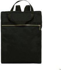 klasyczny plecak czarny, dwufunkcyjny torba
