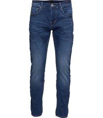 j s k2213 bright slimmade jeans blå gabba