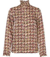 decor shirt blouse lange mouwen multi/patroon second female