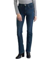 levi's 725 high-waist bootcut jeans in short length