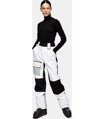 *black and white ski pants by topshop sno - monochrome