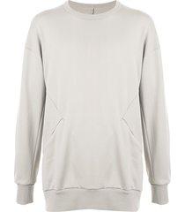 attachment side-pocket sweatshirt - neutrals