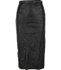 n21 crystal-embellished pencil skirt
