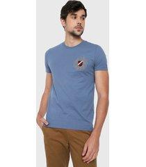camiseta azul-dorado-rojo tommy hilfiger