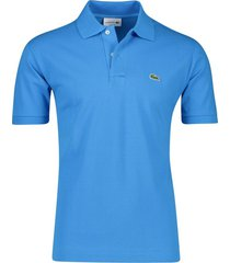 blauw poloshirt lacoste classic fit