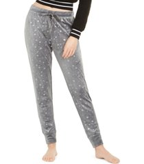 jenni women's velour pajama pants, created for macy's