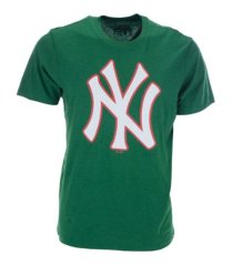 '47 brand men's new york yankees heritage club t-shirt