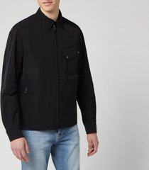 belstaff men's camber jacket - black - 2xl