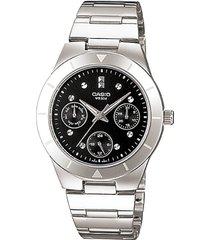 reloj casio ltp-2083d-1a-gris