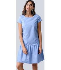 jurk alba moda lichtblauw