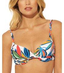 bleu by rod beattie lush life underwire bra bikini top women's swimsuit