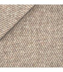 giacca da uomo su misura, bottoli, eco twill diagonale crema, autunno inverno   lanieri